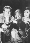 Louis Armstrong and Danny Kaye