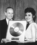 Golden Record for the 1st Unicef Benefit Record